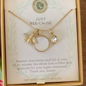 Spartina 449 Jewelry - Spartina Just Bee-Cause Necklace: 18 kt gold